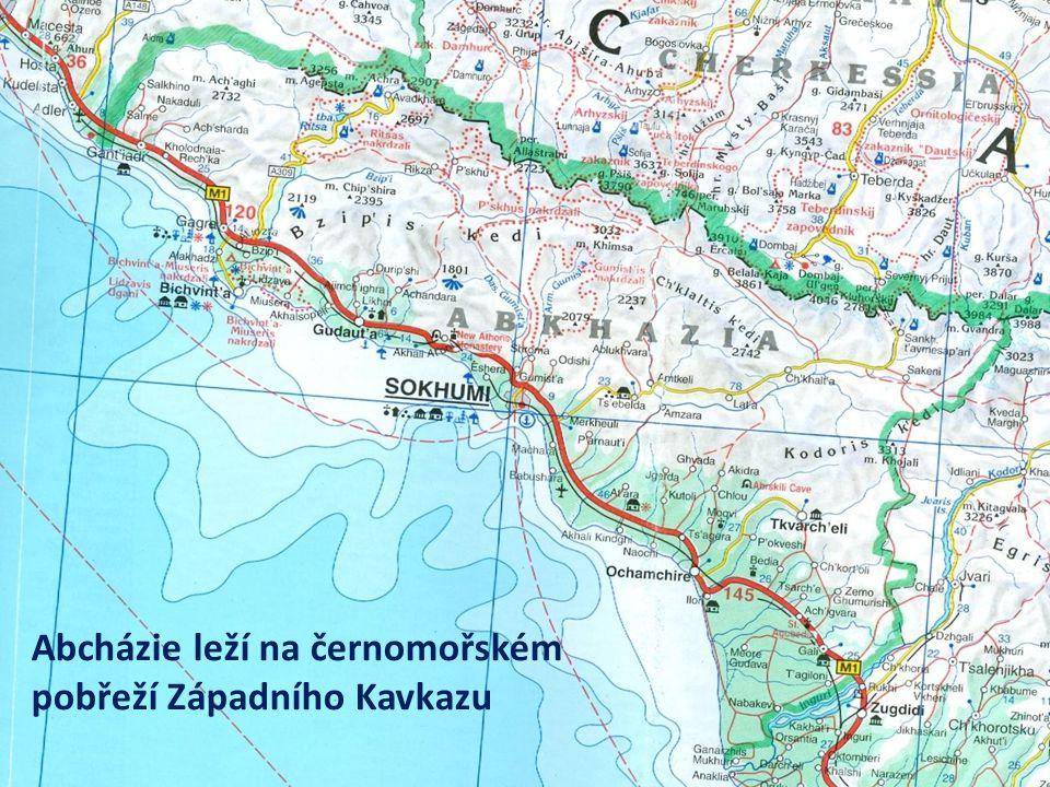 """Expedice """"Abcházie – zapomenutá republika 2014 Expedice """"Abchazie – výprava na Západní Kavkaz přes Karpaty-Ukrajinu-Krym do Předkavkazska a na černomořské pobřeží Kavkazu do světem poněkud odmítané republiky s pověstnými lázněmi Picunda a Gagra, horským jezerem Rica, četnými památkami na řecké a římské kolonie, unikátní biotou subtropických deštných lesů a metropolí Suchumi, kdysi cílem československých turistů."""