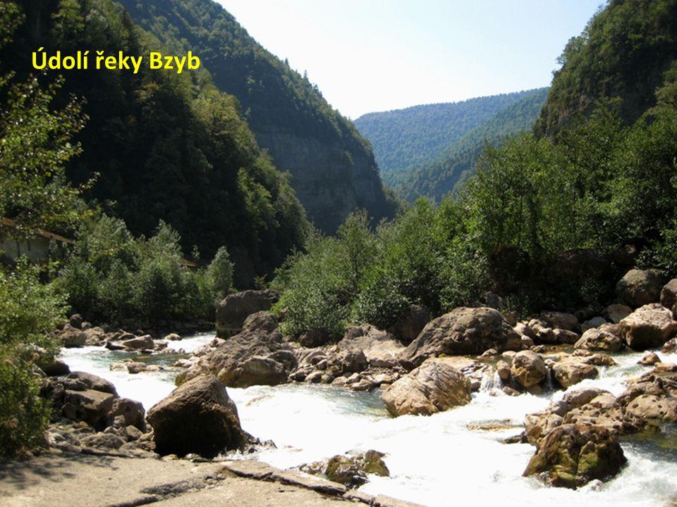 Údolí řeky Bzyb
