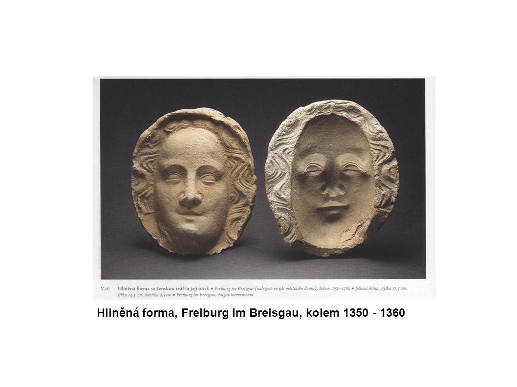 Hliněná forma, Freiburg im Breisgau, kolem 1350 - 1360