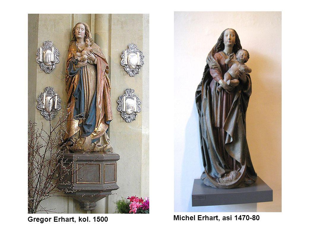 Gregor Erhart, kol. 1500 Michel Erhart, asi 1470-80