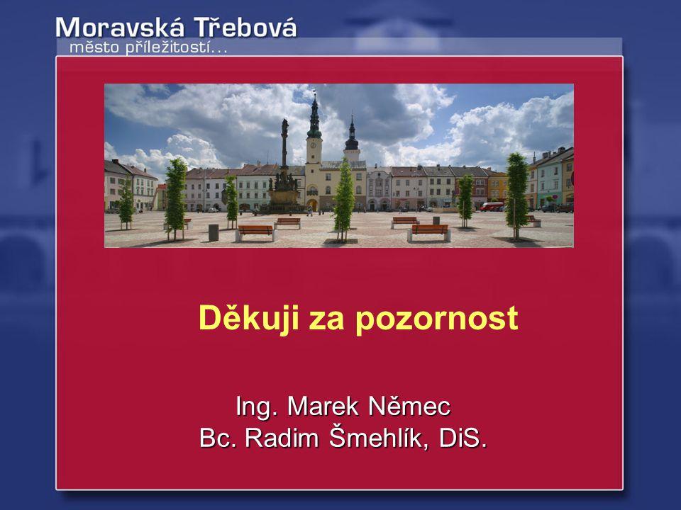 Ing. Marek Němec Bc. Radim Šmehlík, DiS. Děkuji za pozornost