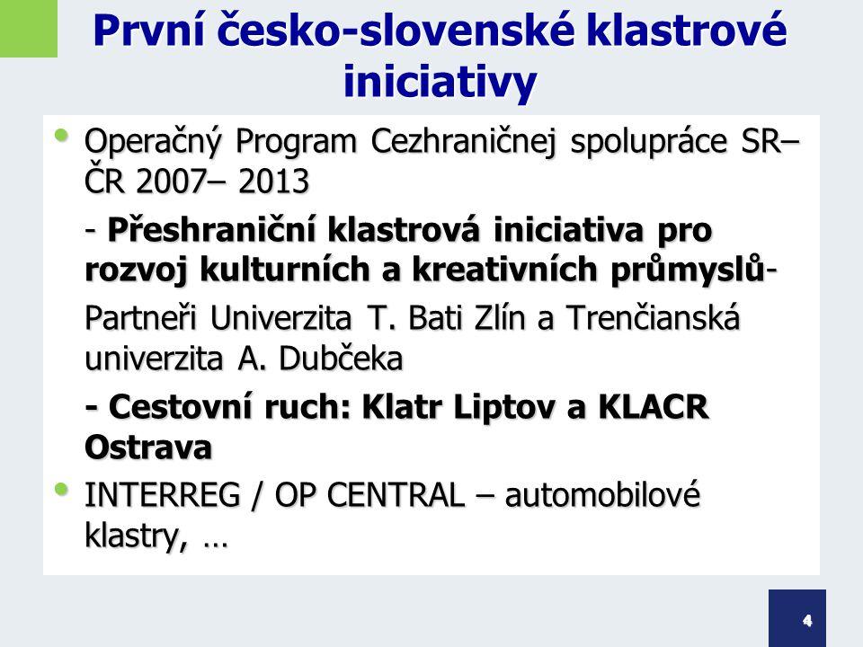 Česko-slovenská klastrová spolupráce - potenciál IN2WOOD, 7.