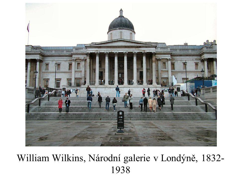 William Wilkins, Národní galerie v Londýně, 1832- 1938