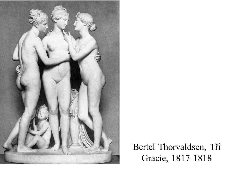 Bertel Thorvaldsen, Tři Gracie, 1817-1818