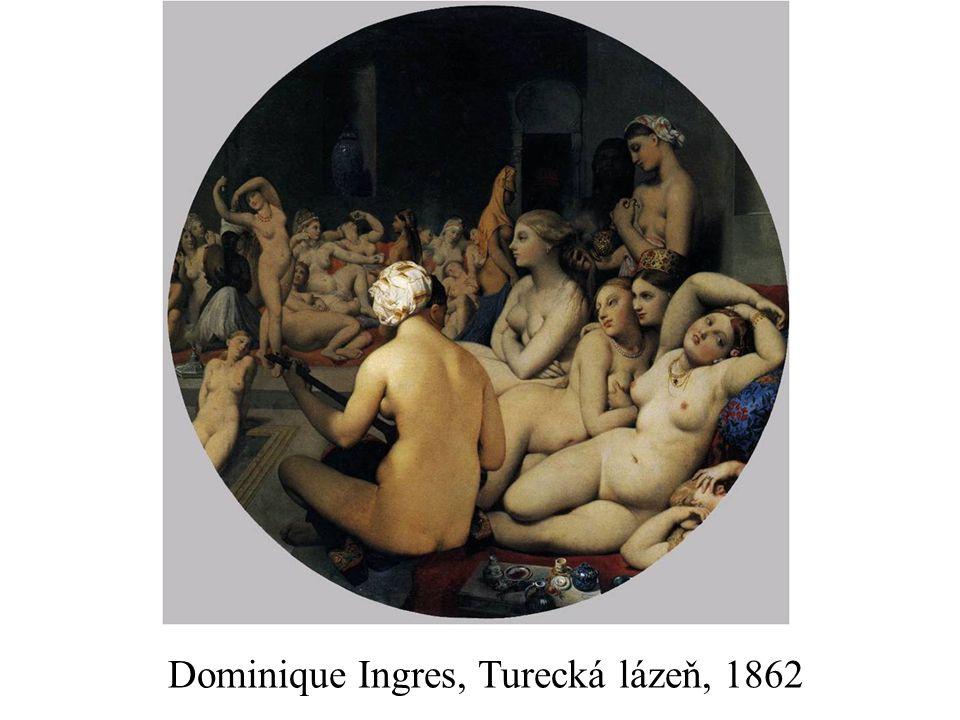 Dominique Ingres, Turecká lázeň, 1862