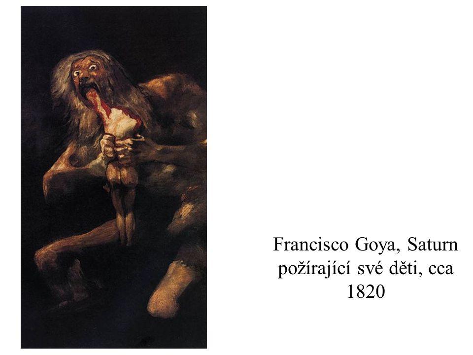 Francisco Goya, Saturn požírající své děti, cca 1820