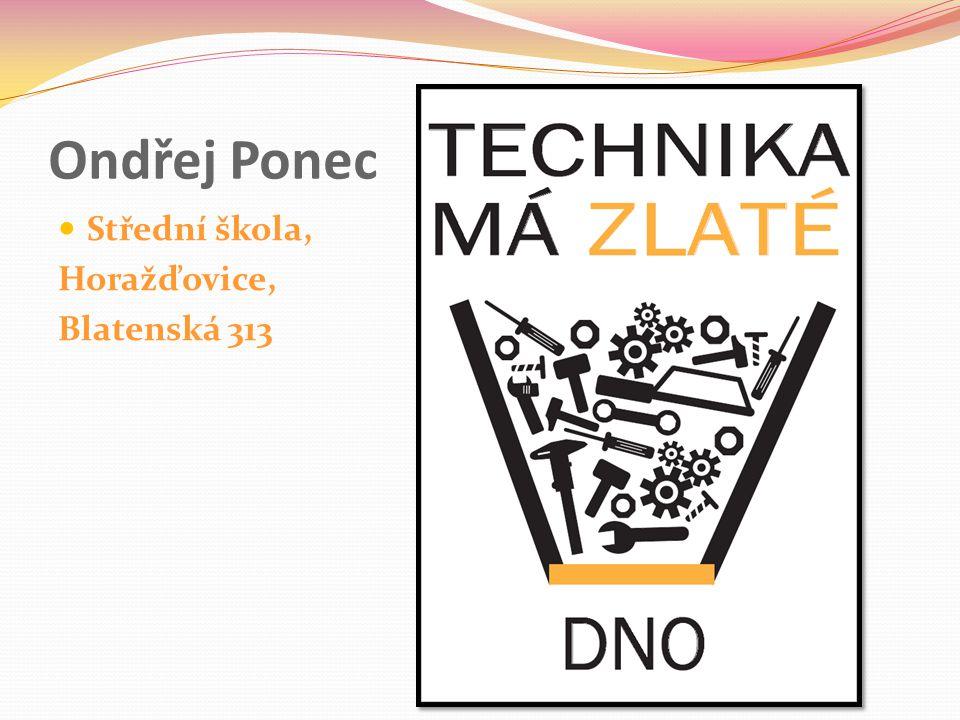 Ondřej Ponec Střední škola, Horažďovice, Blatenská 313