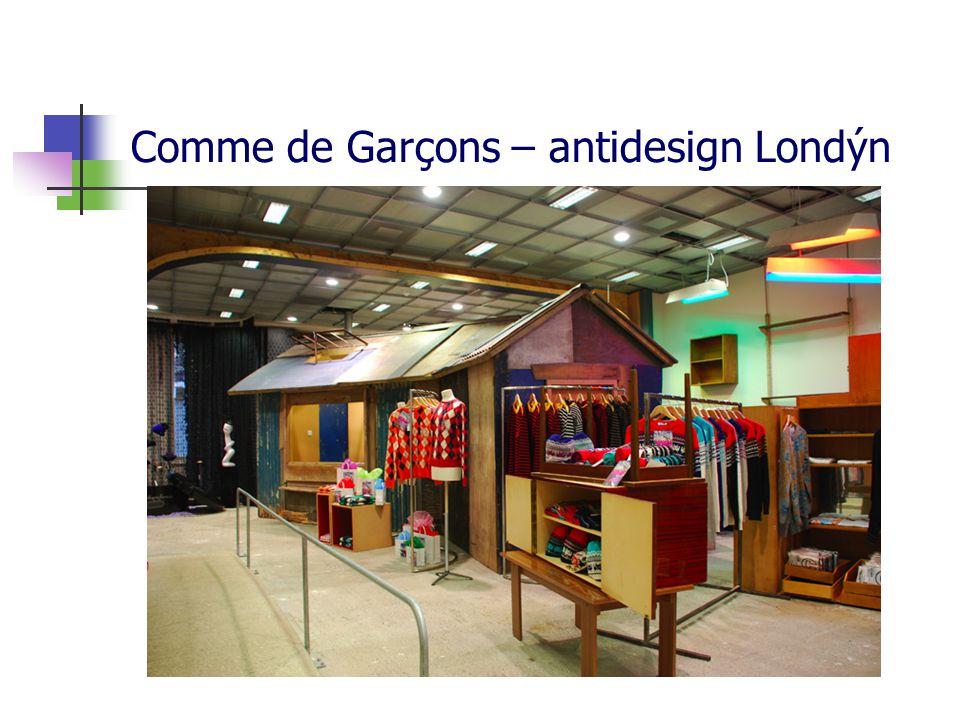 Comme de Garçons – antidesign Londýn