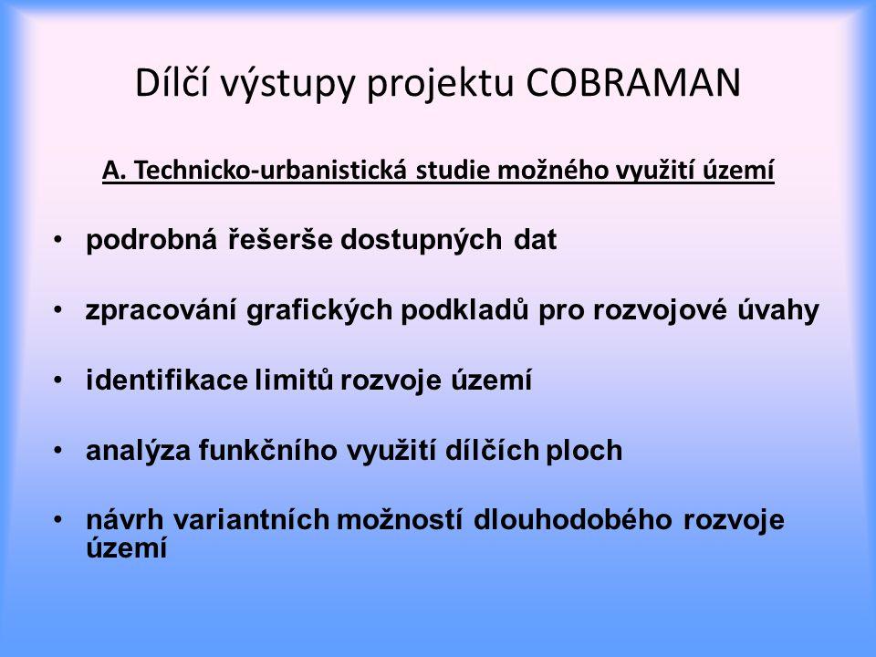 Dílčí výstupy projektu COBRAMAN A.
