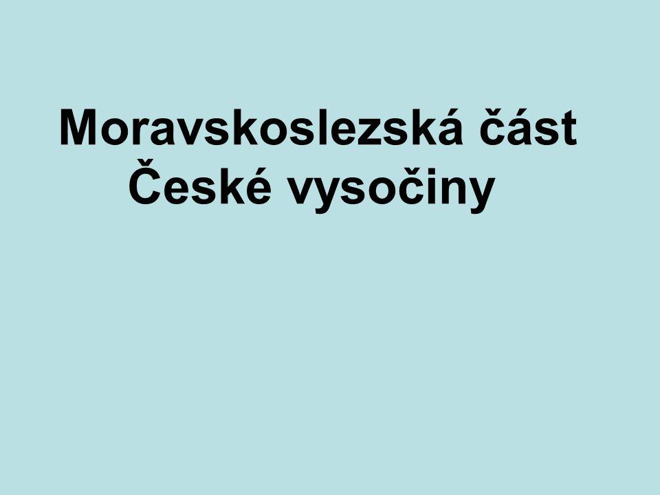 Téma: Česká vysočina, moravskoslezská část - 8.ročník Použitý software: držitel licence - ZŠ J.