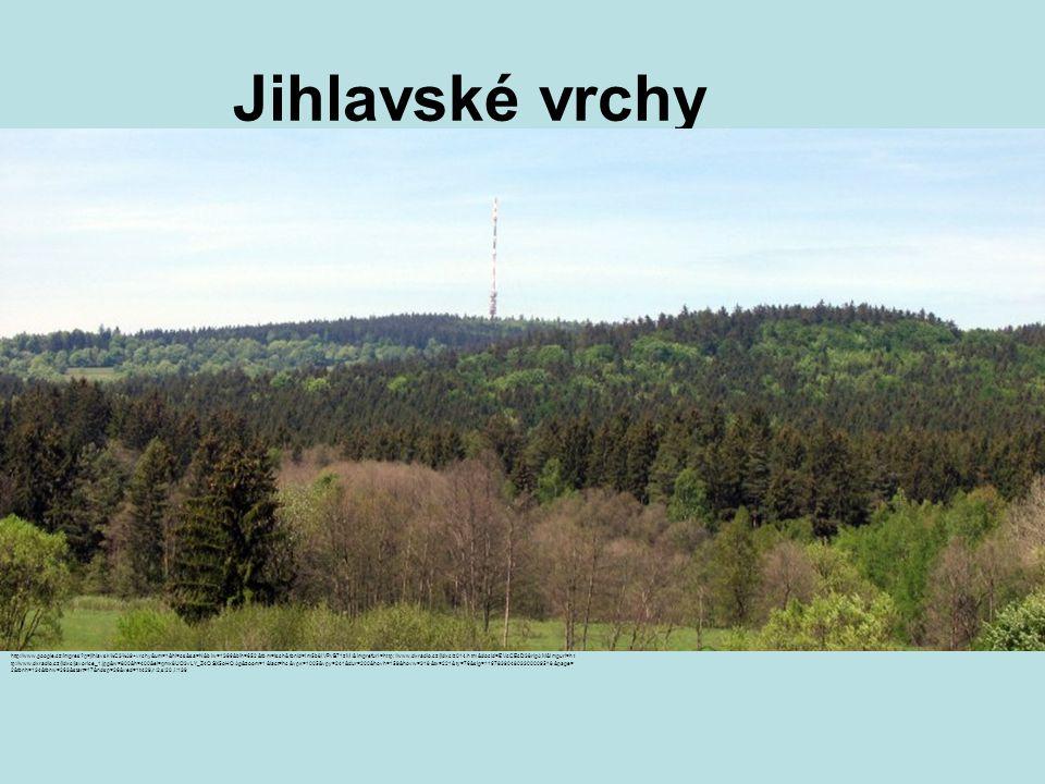 Jihlavské vrchy http://www.google.cz/imgres q=jihlavsk%C3%A9+vrchy&um=1&hl=cs&sa=N&biw=1366&bih=652&tbm=isch&tbnid=lm5b8IVPvB71zM:&imgrefurl=http://www.dxradio.cz/jidxc/z014.htm&docid=EVcCEcD38rIgAM&imgurl=ht tp://www.dxradio.cz/jidxc/javorice_1.jpg&w=800&h=400&ei=qmx8UO3vLY_Z4QSX5oHQAg&zoom=1&iact=hc&vpx=1005&vpy=241&dur=200&hovh=159&hovw=318&tx=221&ty=76&sig=116783904803300009518&page= 2&tbnh=134&tbnw=263&start=17&ndsp=26&ved=1t:429,r:2,s:20,i:139