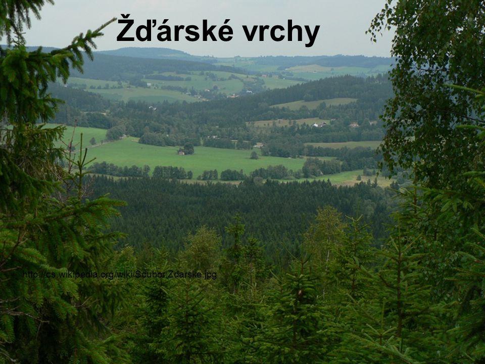 Hrubý Jeseník Praděd 1491 m n.
