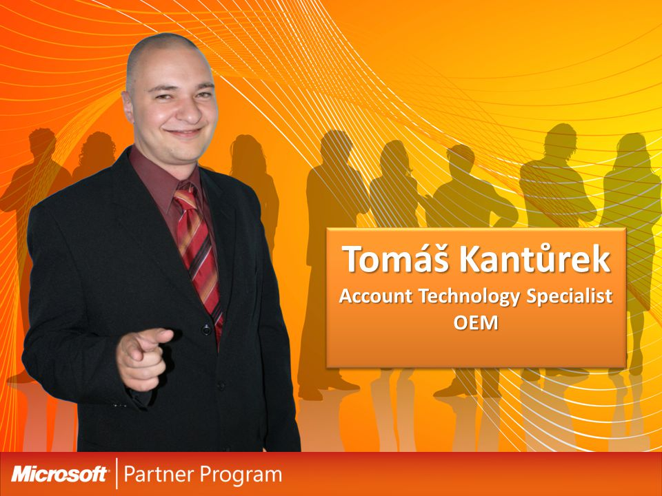 Tomáš Kantůrek Account Technology Specialist OEM