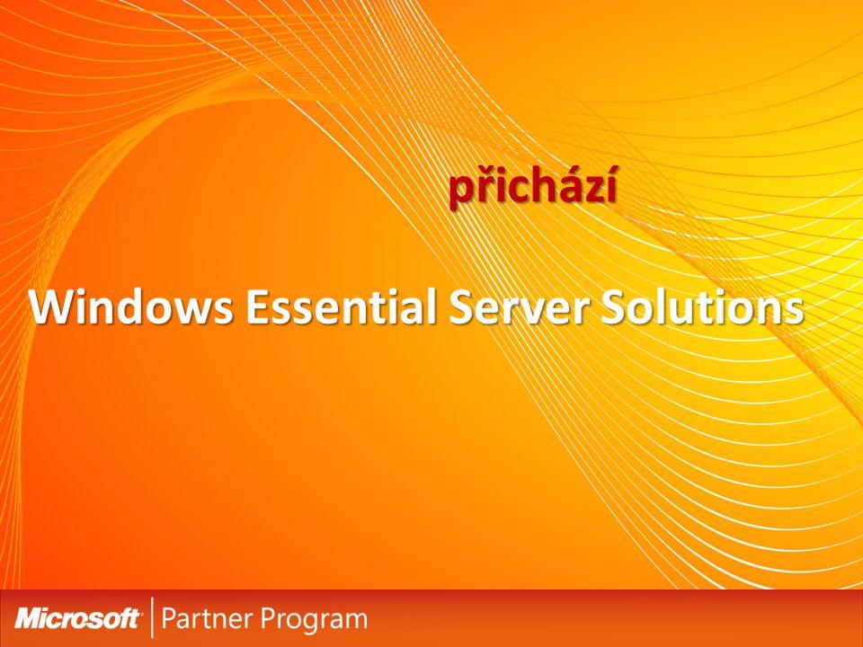 """Windows Essential Server řešení Zjednodušené objednávání a licencování Standardizovaná, rozšiřitelná platforma, ideální pro LOB Integrované nejnovější technologie a nastavení dle """"best practice Design & cena pro SMBs Jednoduchá a předvídatelná instalace, nastavení, údržba a management Zjednodušený management / centralizovaná administrátorská konzole Známe rozhraní Windows umožňuje využít aktuální znalosti IT profesionálů Méně složitosti & více kontroly Možnost pracovat prakticky odkudkoliv díky podpoře mobilních zařízení Spolehlivá a rozšiřitelná platforma umožňuje další růst a minimalizuje riziko výpadku systému Nižší pořizovací cena oproti samostatným produktům Zvýšení produktivity práce Enterprise-class serverová řešení, s designem a cenou pro SMB { Enterprise-class serverová řešení, s designem a cenou pro SMB }"""