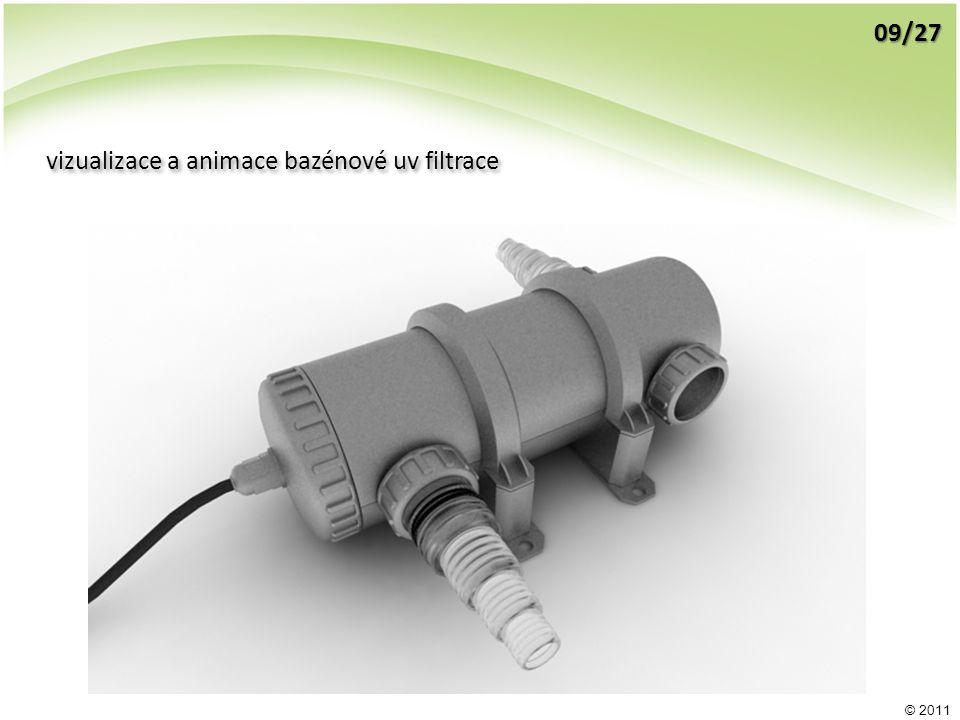 © 2011 vizualizace a animace bazénové uv filtrace 09/27
