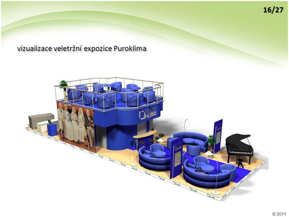 © 2011 vizualizace veletržní expozice Puroklima 16/27