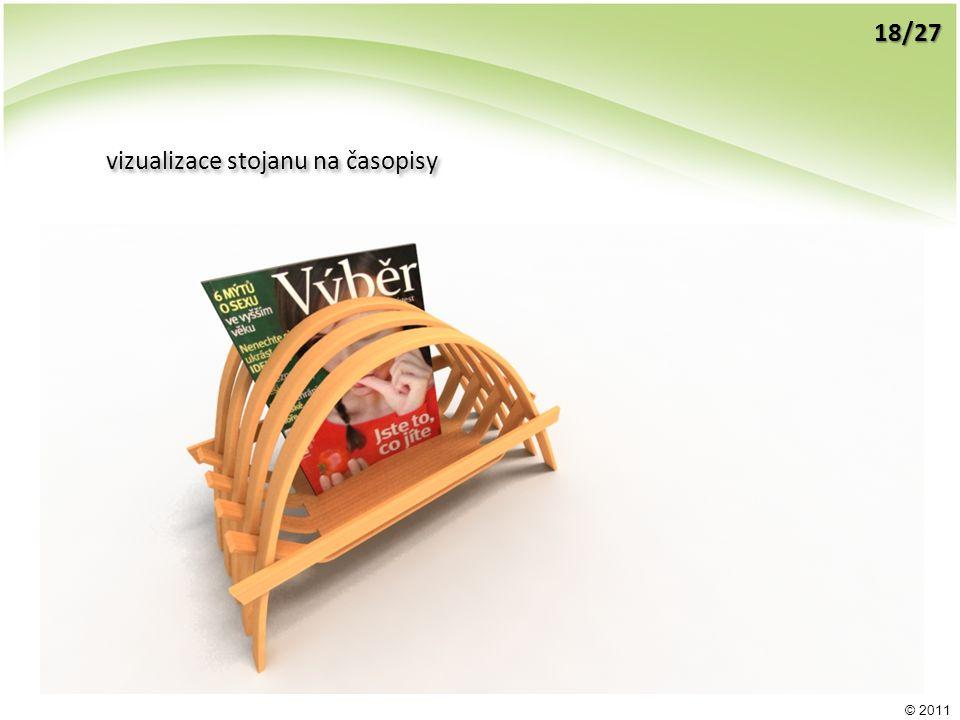 © 2011 vizualizace stojanu na časopisy 18/27