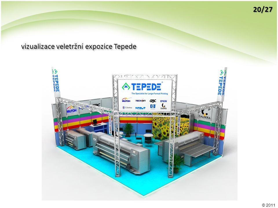 © 2011 vizualizace veletržní expozice Tepede 20/27