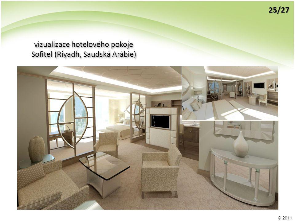 © 2011 vizualizace hotelového pokoje Sofitel (Riyadh, Saudská Arábie) vizualizace hotelového pokoje Sofitel (Riyadh, Saudská Arábie) 25/27