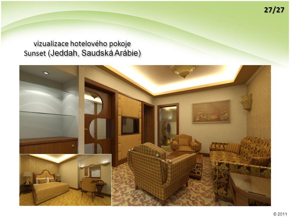 © 2011 vizualizace hotelového pokoje Sunset (Jeddah, Saudská Arábie) vizualizace hotelového pokoje Sunset (Jeddah, Saudská Arábie) 27/27
