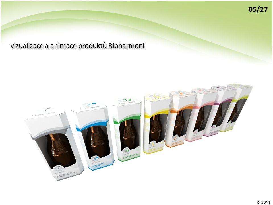 © 2011 vizualizace a animace produktů Bioharmoni 05/27