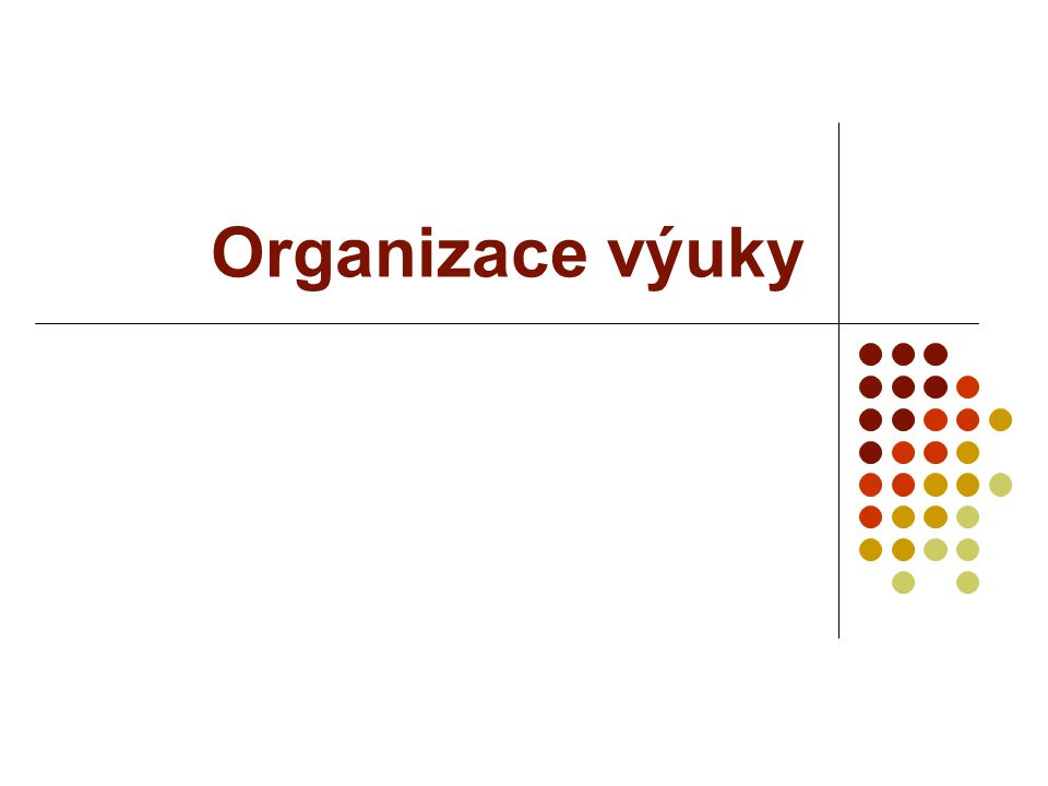 Pracovní místo nejmenší jednotka org.