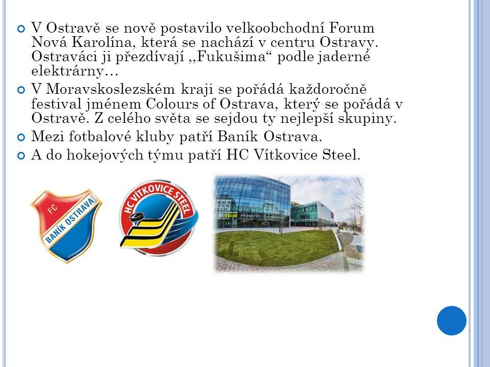 """V Ostravě se nově postavilo velkoobchodní Forum Nová Karolína, která se nachází v centru Ostravy. Ostraváci ji přezdívají,,Fukušima"""" podle jaderné ele"""
