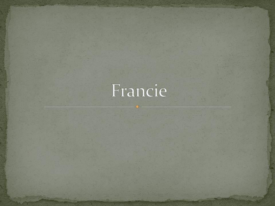 Hl.město: Paříž Rozloha: 543 965 km² Počet obyvatel: 65 436 552 Prezident: François Hollande Měna: Euro