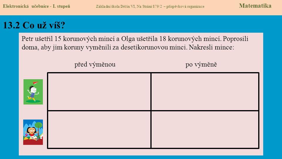 13.3 Nové termíny a názvy Elektronická učebnice - I.