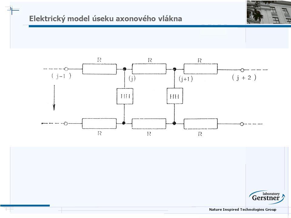 Nature Inspired Technologies Group Elektrický model úseku axonového vlákna