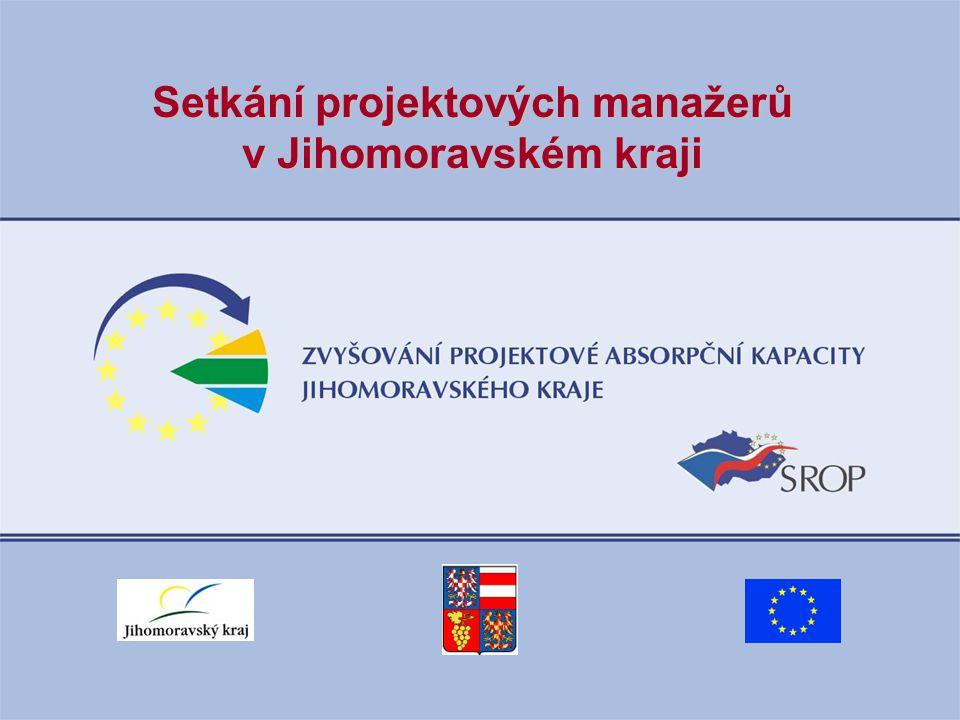 Setkání projektových manažerů v Jihomoravském kraji