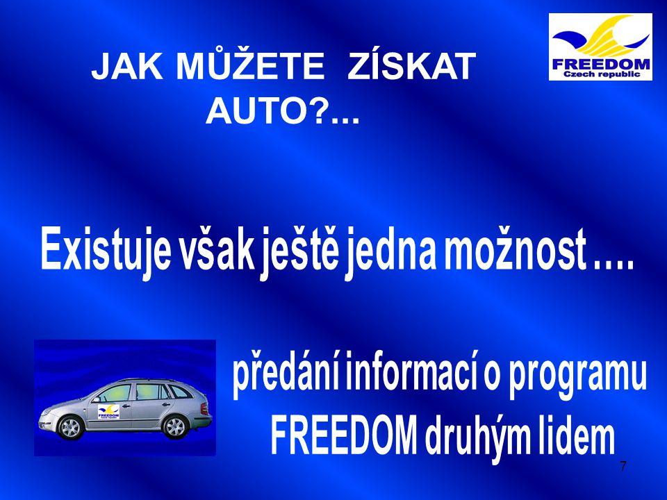 7 JAK MŮŽETE ZÍSKAT AUTO?...
