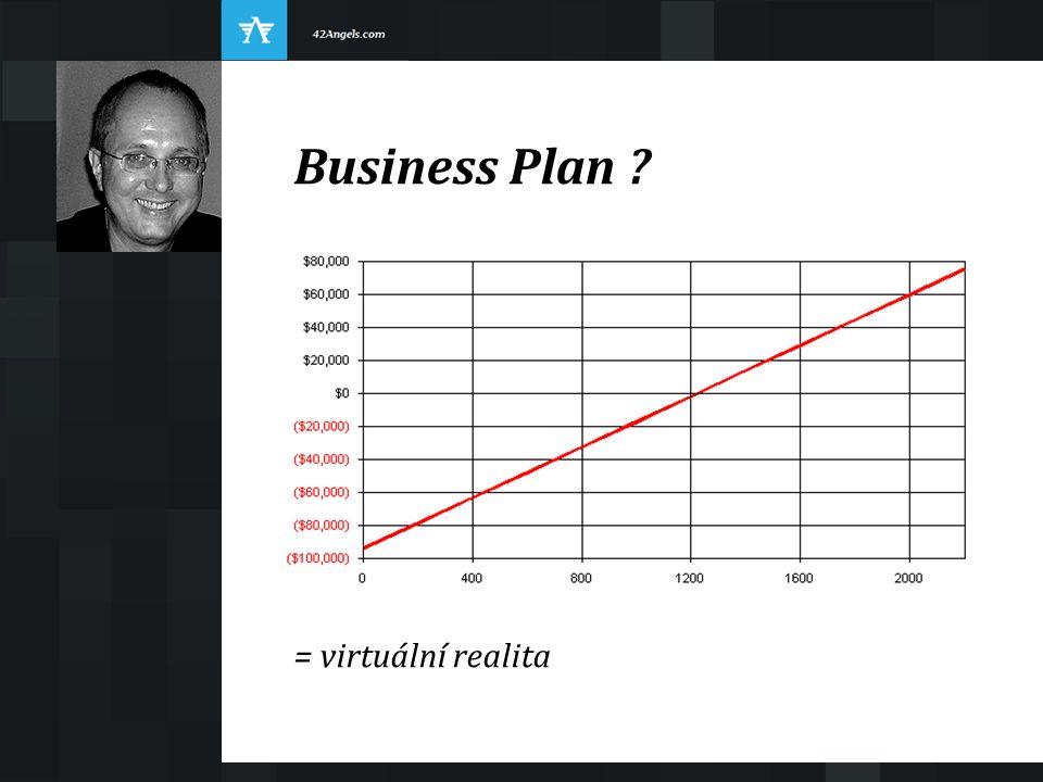 Business Plan ? = virtuální realita