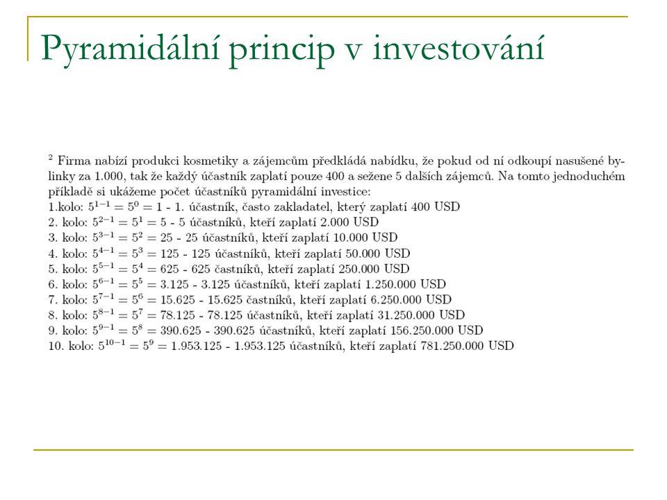 Pyramidální princip v investování