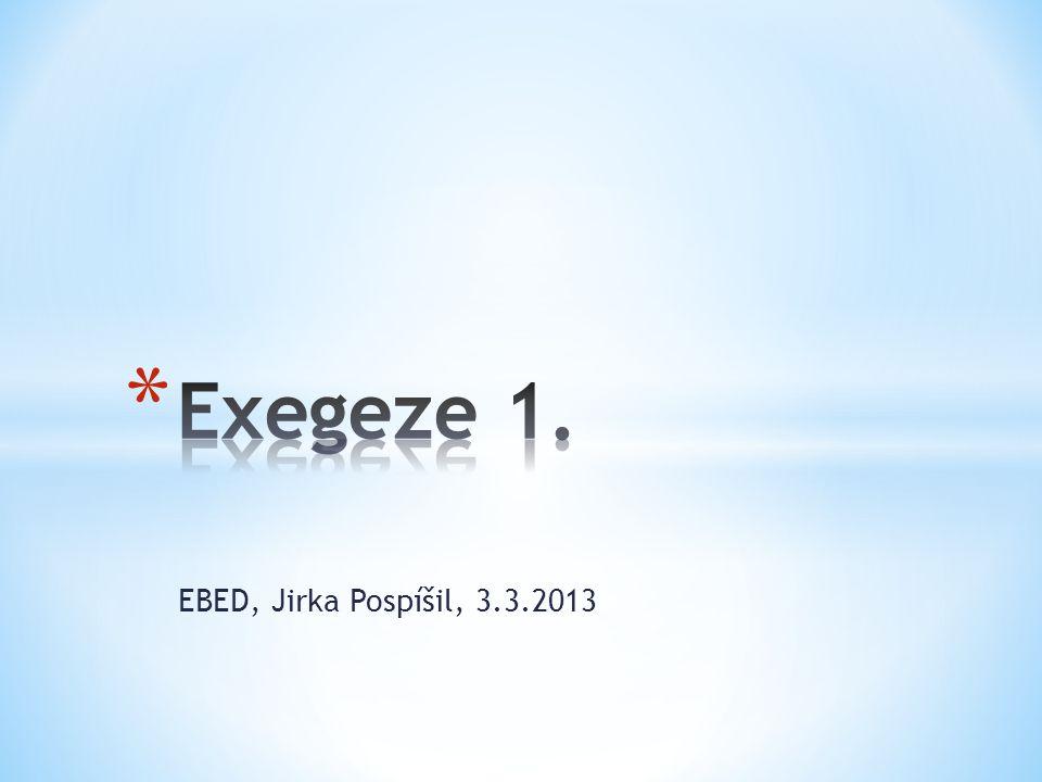 EBED, Jirka Pospíšil, 3.3.2013