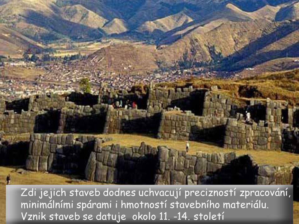 dokonalí kameníci Inkové