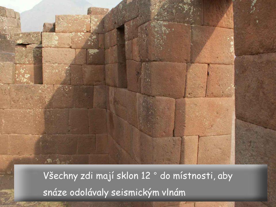Qoricancha v Cuzcu je ukázkou dokonalé práce starých Inků