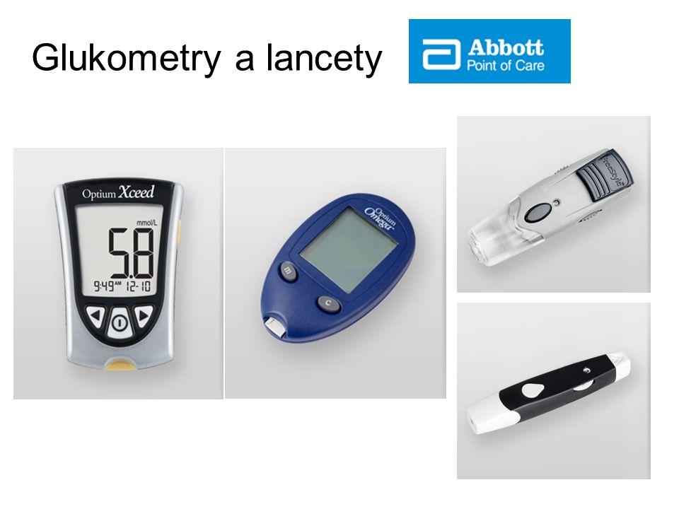 Glukometry a lancety