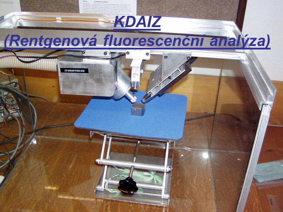 KDAIZ (Rentgenová fluorescenční analýza)