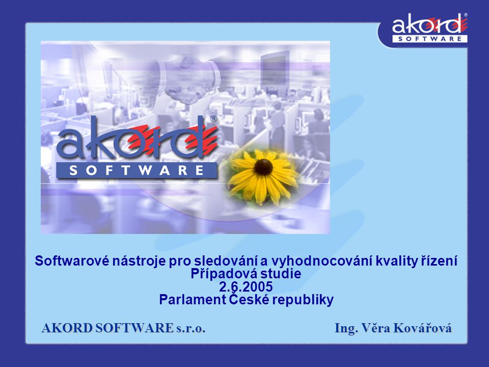 AKORD SOFTWARE s.r.o.Ing.