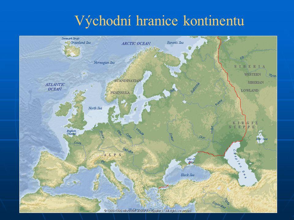Východní hranice kontinentu