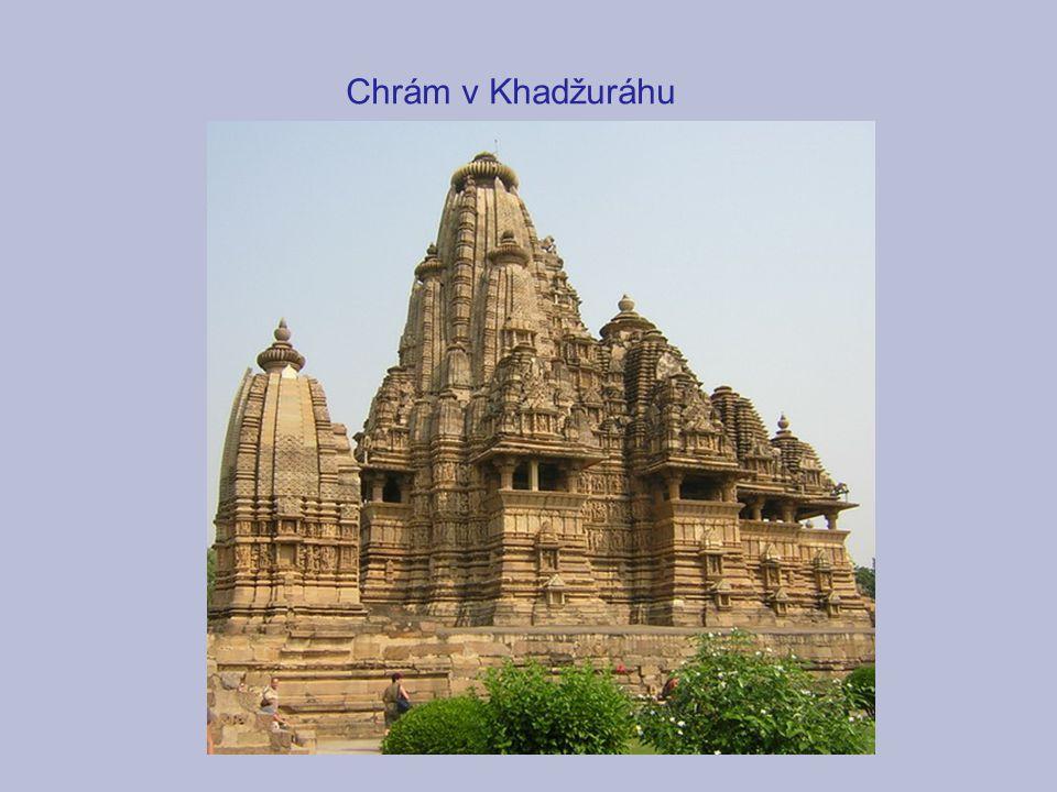 Chrám v Khadžuráhu