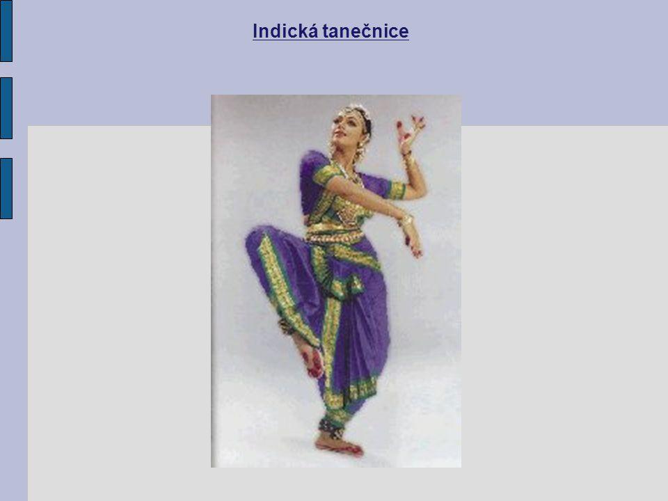 Indická tanečnice