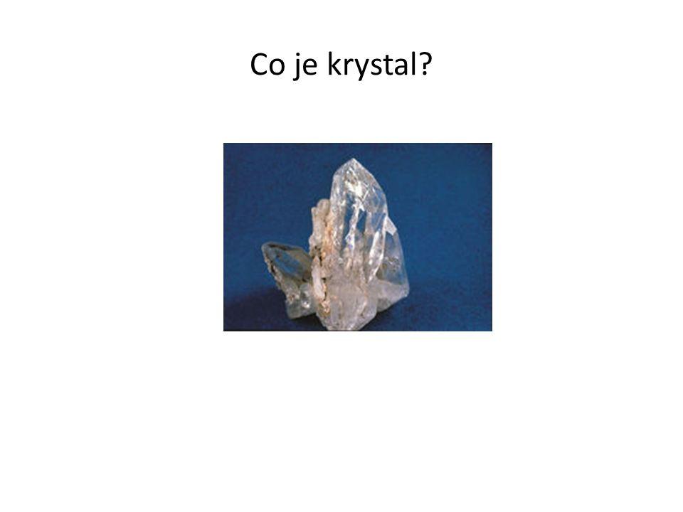 Co je krystal?