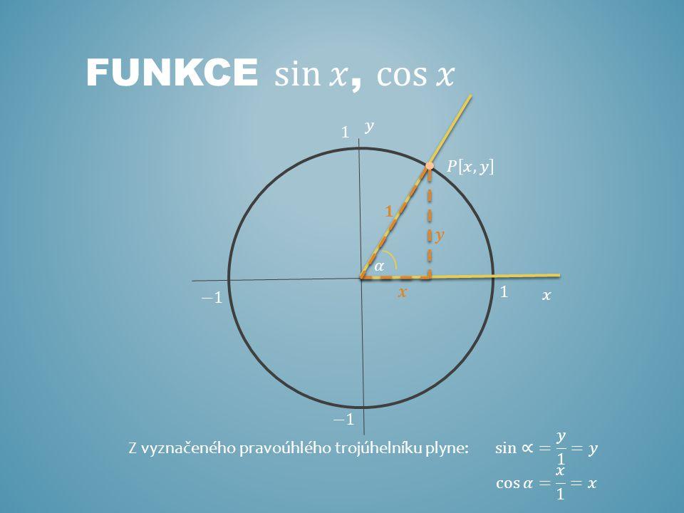 Z vyznačeného pravoúhlého trojúhelníku plyne: