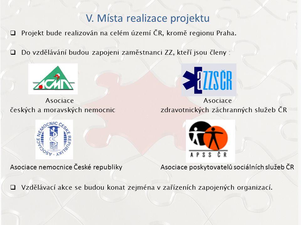 VI.Hlavní cíle projektu  Zlepšení kultury bezpečí na pracovišti s ohledem na sociální dialog.