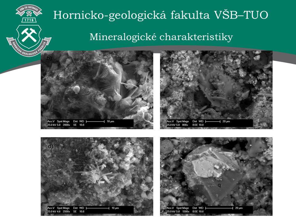 Hornicko-geologická fakulta VŠB–TUO Mineralogické charakteristiky