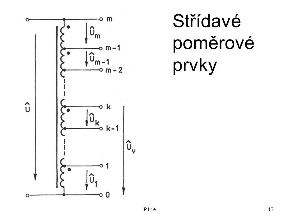 P14e47 Střídavé poměrové prvky