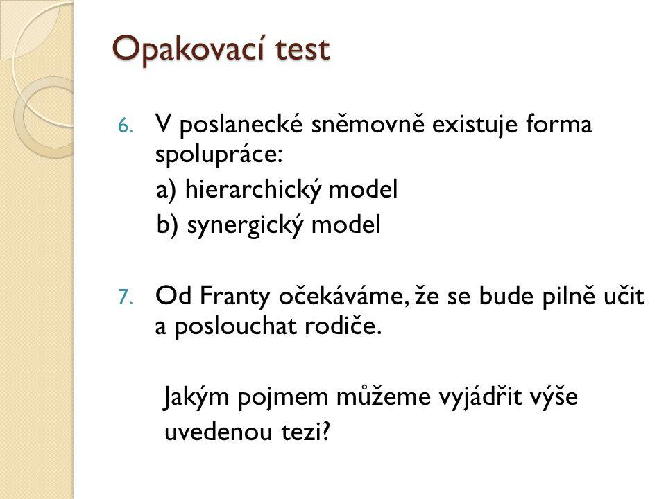 Opakovací test 6.