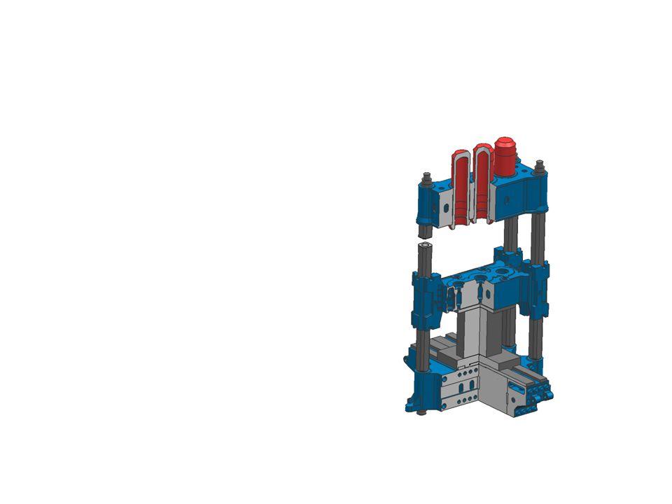 Multiplikátorový pohon Je zde použit pro zvýšení pracovního tlaku hydrogenerátor s multiplikátorem Použití: - vysoká jmenovitá síla - zvýšení tlaku až na hodnotu 40 až 100 MPa